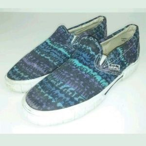 B.U.M. Aztec Slides Skate Boat Shoes